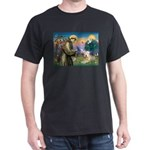 St. Fran #2 / Wheaten Terrier Dark T-Shirt