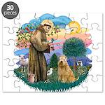 St Francis #2/ Wheaten #2 Puzzle
