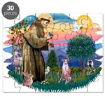 St Francis #2/ Whippet #7 Puzzle