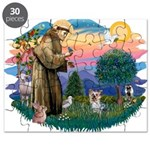 St Francis #2/ Yorkie #13 Puzzle