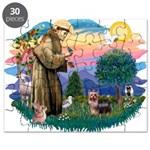 St.Francis #2/ Yorkie (#9) Puzzle