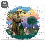 StFran(f)-Abyssinian (bl) Puzzle