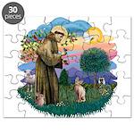 St. Fran (ff) - Sphynx cat (f Puzzle