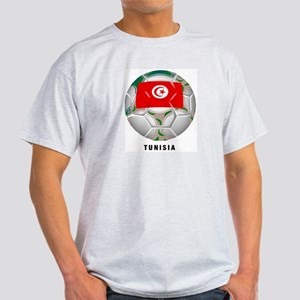 Tunisia soccer Ash Grey T-Shirt