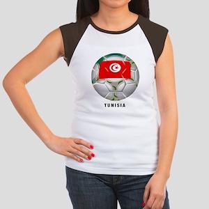 Tunisia soccer Women's Cap Sleeve T-Shirt