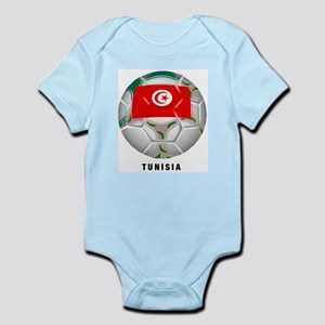 Tunisia soccer Infant Creeper
