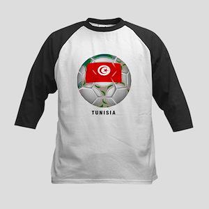Tunisia soccer Kids Baseball Jersey