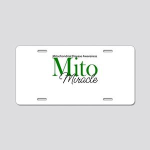 Mito Miracle Aluminum License Plate