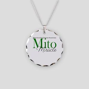 Mito Miracle Necklace Circle Charm
