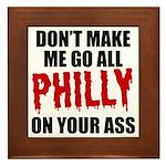 Philadelphia Baseball Framed Tile