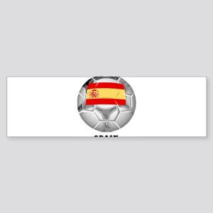Spain soccer Bumper Sticker