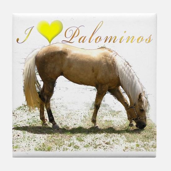 Cool Horses Tile Coaster