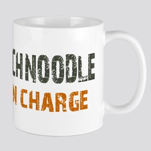 Schnoodle IN CHARGE Mug