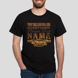 Retro TV Cheers Dark T-Shirt