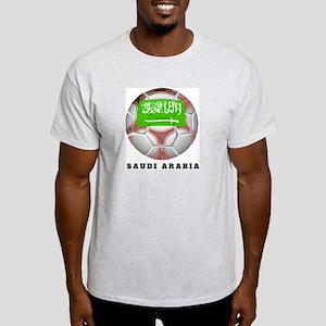 Saudi Arabia soccer Ash Grey T-Shirt