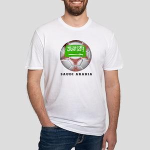 Saudi Arabia soccer Fitted T-Shirt