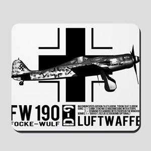 Focke-Wulf Fw 190 Mousepad