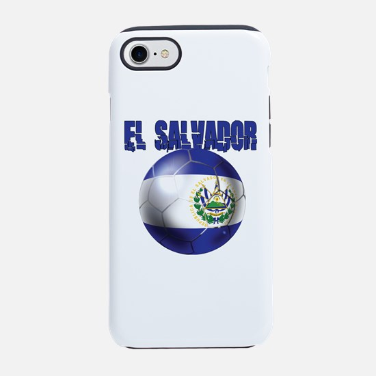 Futbol de El Salvador iPhone 7 Tough Case