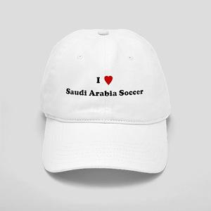 I Love Saudi Arabia Soccer Cap