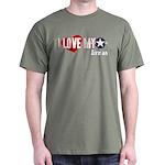 I Love My Airman Dark T-Shirt