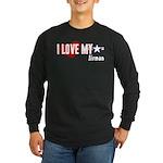 I Love My Airman Long Sleeve Dark T-Shirt