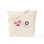 I Love My Airman Tote Bag