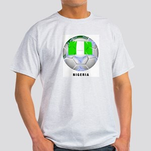 Nigeria soccer Ash Grey T-Shirt