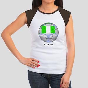 Nigeria soccer Women's Cap Sleeve T-Shirt
