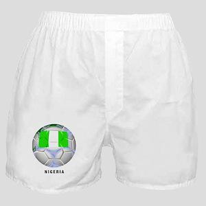Nigeria soccer Boxer Shorts