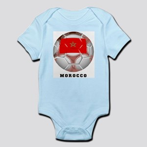Morocco soccer Infant Creeper