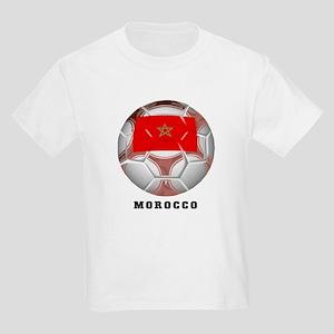 Morocco soccer Kids T-Shirt