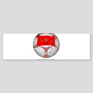 Morocco soccer Bumper Sticker