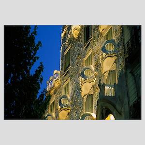 Low angle view of a building, Casa Batllo, Barcelo