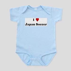 I Love Japan Soccer Infant Creeper