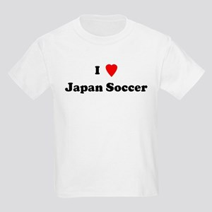 I Love Japan Soccer Kids T-Shirt