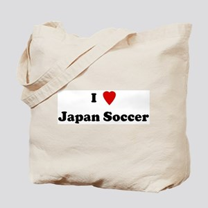 I Love Japan Soccer Tote Bag