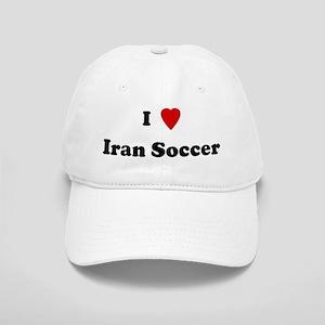 I Love Iran Soccer Cap