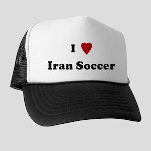 I Love Iran Soccer Trucker Hat