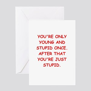 Old farts jokes Greeting Card