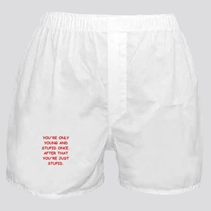 Old farts jokes Boxer Shorts