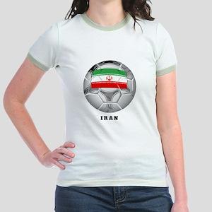 Iran soccer Jr. Ringer T-Shirt