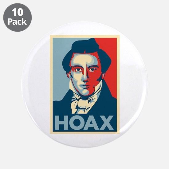 "Joseph Smith: HOAX 3.5"" Button (10 pack)"
