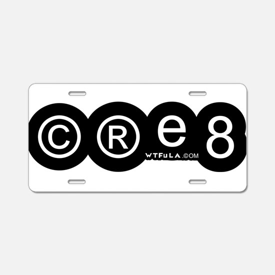 Create Aluminum License Plate