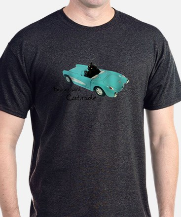 Driving with Catitude T-Shirt
