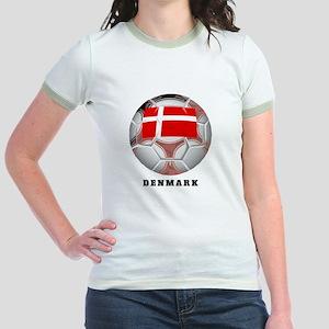 Denmark soccer Jr. Ringer T-Shirt