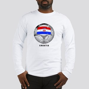 Croatia soccer Long Sleeve T-Shirt