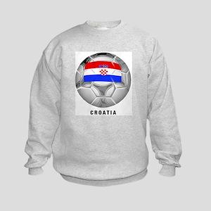 Croatia soccer Kids Sweatshirt