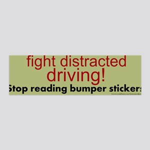 """Fight Distracted Driving!"" 42x14 Wall Peel"