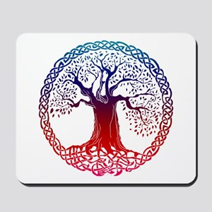 Sunset Celtic Tree Mousepad