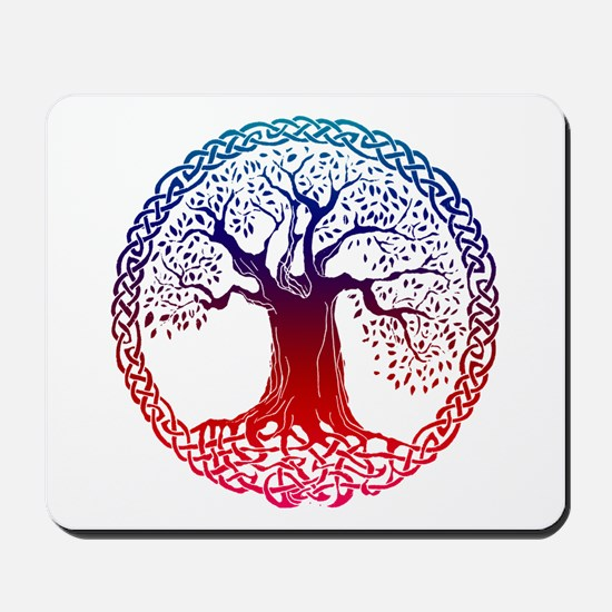 Sunset Celtic Tree Mousepad